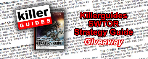 Grab Free Killerguides SWTOR Strategy Guides